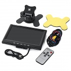 "7 ""Color Car Monitor LCD Displayer - Black"
