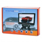 "7 ""Color LCD monitor del coche Displayer - Negro"
