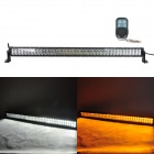 MZ 280W 23400lm White + Yellow Beam LED Worklight Bar Off-road 4WD UTV Lamp w/ Remote Controller