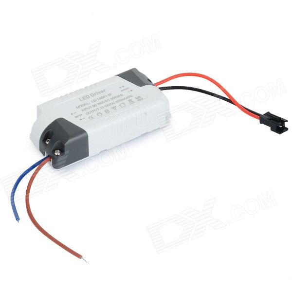 LD-18650-3F PWM LED Power Driver - White + Black (AC 90~260V)