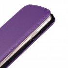 "Protective Second Layer Sheepskin Flip-Open Case for IPHONE 6 PLUS 5.5"" - Purple"