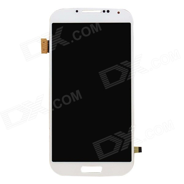 Replacement LCD Touch Screen Module for Samsung Galaxy S4 i9500 - White 3 gang 1 way touch screen wall switch for lamp touch switch white uk standard