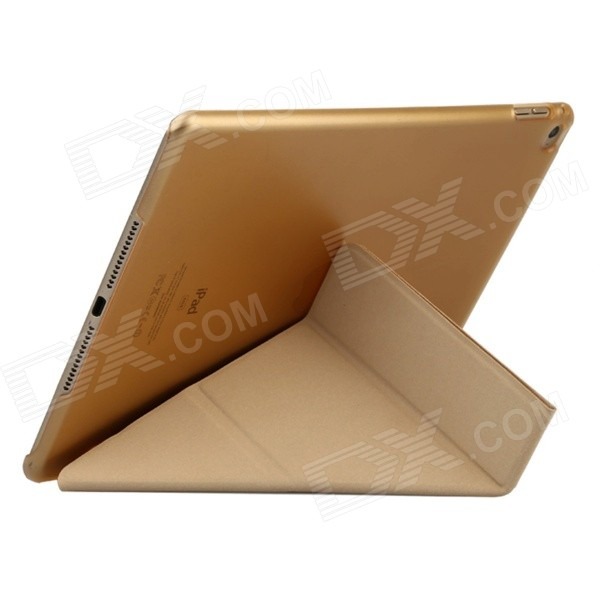 Baseus LTAPIPAD6-PS01 Protective PU Leather Case w/ Stand for IPAD AIR 2 - Golden 31 век ps nc401