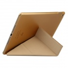 Baseus LTAPIPAD6-PS01 Protective PU Leather Case w/ Stand for IPAD AIR 2 - Golden