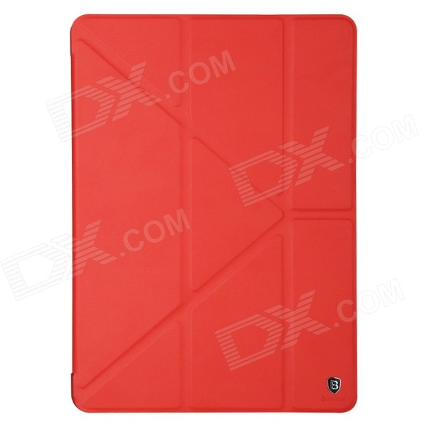 Baseus LTAPIPAD6-PS09 Protective PU Leather Case w/ Stand for IPAD AIR 2 - Red 31 век ps nc401