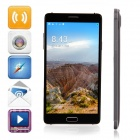 "N9500 Android 4.4.2 Quad-Core WCDMA Bar Phone w/ 5.7"" QHD, 8GB ROM, Wi-Fi, GPS, OTG - Black"