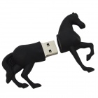 Horse Shaped USB 2.0 Flash Drive - Black (16GB)