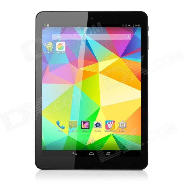 Cube I6 9.7'' Android 4.4 Quad-core 3G Tablet w/ 2GB RAM, 32GB ROM, GPS, Bluetooth - Black + Blue vic firth nova n5bn