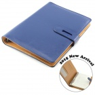 SD85-65C Top Grade 100-Page Fine Sheepskin A5 Paper Parchment Notebook - Blue