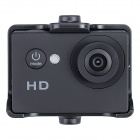 "Aoluguya Q7 HD 720P 1.5"" LTPS 140 Degree Wide Angle Car DVR Driving Recorder - Black"