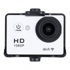 "Aoluguya Q8 FHD 1080P 1.5"" LTPS 140 Degree Wide Angle Wireless Driving Recorder Car DVR - White"
