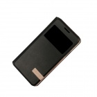 USAMS Protective PU Leather + PC Case w/ Stand / Auto Sleep for Samsung Galaxy A3000 - Black