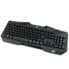 XT2-Pro USB 2.0 112-Key Backlit Professional Gaming Keyboard - Black