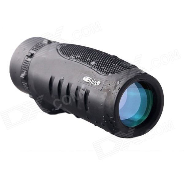 BIJIA 8.5x32 High-powered HD Monocular Telescope - Black