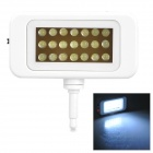 RT02 21-LED White Light Camera Fill Lamp for Cell Phone - White