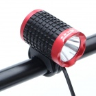 ZHISHUNJIA 810lm 6-Mode White Light LED USB Bike Lamp / Headlamp - Black + Red