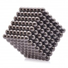 5mm Magnetic Balls Beads Sphere Cube Puzzle Neocube Intelligence Toy - Black (343 PCS)