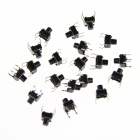 6 x 6 x 7mm Slightly Touch Button Switches (20 PCS)
