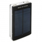 SUNWALK Outdoor Camping 0.8W 5V 10000mAh Solar Powered Strøm Bank m / 4-toneart LED-Svart