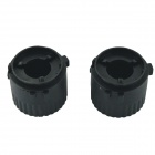 CARKING HID Bulb Holder Socket Adapters for Volkswagen MK6 Golf - Black (2 PCS)