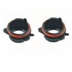 CARKING Car H7 HID Xenon Head Bulb Adapter Sockets for BMW E39 5 Series (2 PCS)