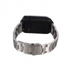 "No.1 G2 MTK2502 1,54 ""Bluetooth V4.0 Smart horloge w / Heart Rate, stappenteller, Camera - Zilver"