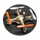 Genuine HF 2.4G 4ch F803C-PRO Mini Quad Rotors with 1MP Camera Ready To Fly Combo (Gold)