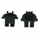 CARKING Car HID Bulb Holder Adapter Sockets for Hyudnai Santa Fe - Black (2 PCS)