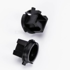 CARKING Car H7 HID Xenon Head Bulb Adapter Sockets for KIA - Black (2 PCS)