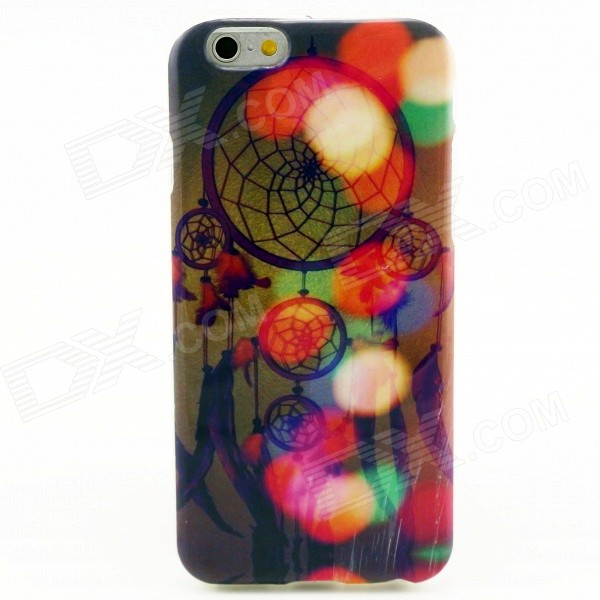 Dreamcatcher Pattern Protective TPU Back Case for IPHONE 6 - Multi-Color usams perfume style tpu back case for iphone 6 4 7 brown multi color