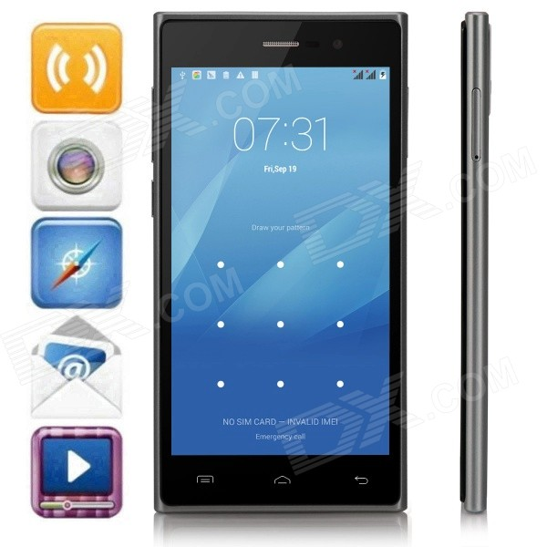 DOOGEE TURBO2 DG900 Octa-Core Android 4.4 WCDMA Phone w/ 5.0 OGS FHD, 2GB RAM, 16GB ROM, GPS, OTG