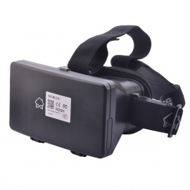 """Virtual Reality 3D Video Glasses w/ NFC for 3.5~5.7"""" Phone - Black"""