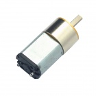 15.5mm 16GR Precise DC 6.0V 25rpm Mini Gear Motor - Silver