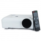 FB5800 1080P Home Theater LCD Projector w/ 2 x USB / 2 x HDMI / VGA / AV / YPbPr - White
