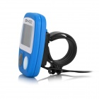 "SAHOO Water Resistant 1.3"" LCD 14-Function Wired Bicycle Stopwatch - Blue (1 x LR44)"