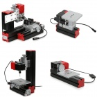 6-in-1 DIY Multi-functional Mini Drilling / Sanding / Turning / Milling Machine Tool Kit