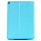 Mr.northjoe Protective PU Leather Case w/ Stand + Auto Sleep for IPAD AIR 2 - Blue