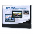 "RT-9138 7"" TFT LCD Car Monitor Displayer + Reversing Rearview Camera Set - Black"