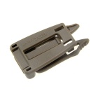 Strap Webbing Connecting Buckle Clip Connector for Outdoor Molle Backpack Bag - Khaki