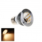 E27 5W 280lm 3000K 30-SMD 2835 LED Warm White Energy Saving Light Bulb w/ Lens - White (AC 220~240V)