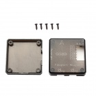 Protective PLA Cover w/ Screws for CC3D Flight Controller - Black
