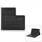 Removable Bluetooth v3.0 64-Key Keyboard + PU Case for Google Nexus 9 - Black