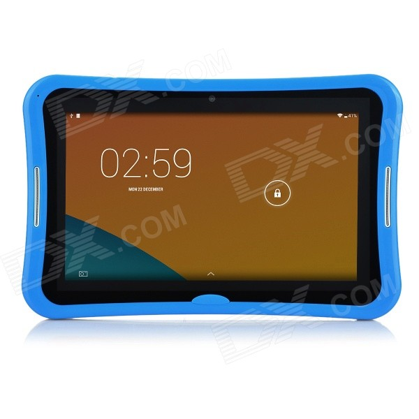R70PC 7 IPS Android 4.4.2 Dual-Core Tablet PC w/ 4GB ROM, Wi-Fi, TF Slot - Blue + White tempo ms703 7 android 4 2 a23 dual core tablet pc w 512mb 4gb wi fi dual cameras white