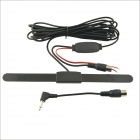 Universal BO-0017 Car TV digital Antena Activa Booster Antena - Negro