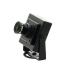 700TVL OSD PAL FPV 130W Mini Aerial Photography Camera - Black