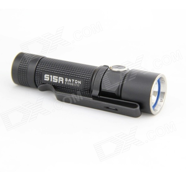 Olight S15R 1-LED 280lm 5-Mode Super Bright Flashlight Torch