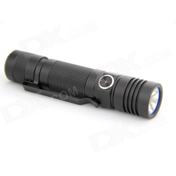 Olight S30R 1 LED 1000lm 6-Mode Super Bright Flashlight Torch - Black (1 x 18650)