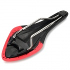 Multi-Functional Bicycle Seat Saddle for Road / Fixed Gear Bikes - Black + Red