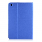 Protective PU Leather Smart Case w/ 2-Mode Stand for IPAD MINI 1 / 2 / 3 - Blue