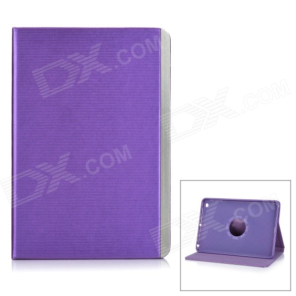 все цены на Protective PU Leather Smart Case w/ 2-Mode Stand for IPAD MINI 1 / 2 / 3 - Purple онлайн